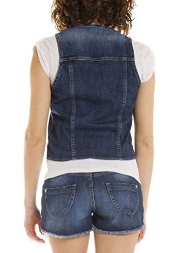 Bleu Pour Jeans Jean Sans Style Femme Extensible Carrera 490 Western Wash Slim Taille Lavage 710 Tissu En stone Moyen Manches Gilet dTtxnqwX