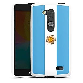 LG G2 Lite Silikon Hulle Case Schutzhulle Argentinien Flagge Flag
