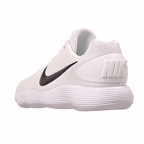 Nike Wmns Hyperdunk 2017 Laag Tb Vrouwen 897812-100 Wit / Zwart