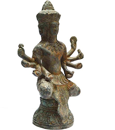 Sarah Coventry Chain (Asian Vintage Statue Khmer Angkor Cambodian Home Decoration Art Khmer Buddha Statue)