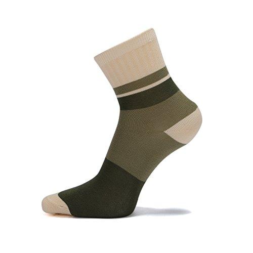 Big Boys Cotton Seamless Socks Crew Atheletic Sport Socks for Kids 6 Pack 10T/11T/12T/13T by HowJoJo (Image #4)