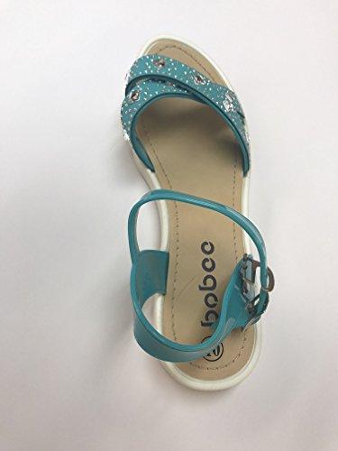 Gem Gem Studded Ankle Womens Strap Sandals Bobee Womens Turquoise Strap Ankle Studded Bobee xAdSwqpdg1