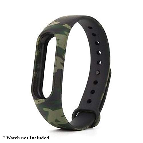 Amazon price history for Brain Freezer J Printing Replacement Army Camouflage Strap Smart Activity Tracker for Xiaomi MI Band 2 and Mi Band HRX