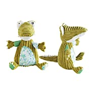 KSBRO Corduroy Animals Dolls Stuffed Plush Animals Toys Soothing Doll Adorable Plushie Baby Kids Toys and Gifts-1PC only (crocodile)