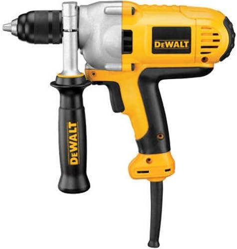 DEWALT Electric Drill, Mid Handle Grip, 1/2-Inch, 10-Amp (DWD215G)