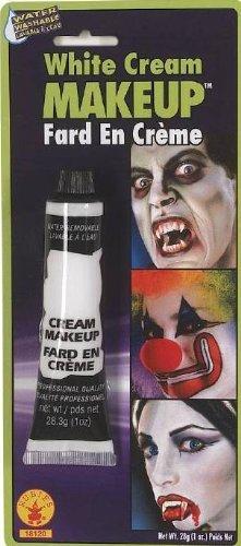 Mehron Inc.White Cream Makeup 0.7 Ounce - White -
