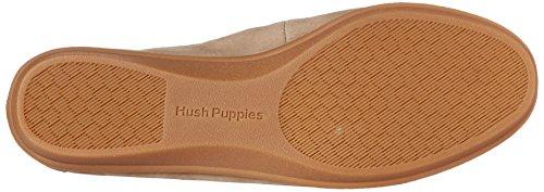 Hush Puppies Mujeres Endless Wink Flat Taupe Nubuck