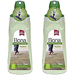 Bona 34 oz. Stone, Tile, and Laminate Floor Cleaner Cartridge, Pack of 2