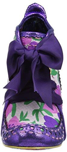 Donna Purple Floral Viola Choice Abigail's Irregular Third Stivali Party Multi PawpXx