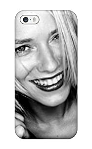 Fashion Tpu Case For Iphone 5/5s- Naomi Watts Closeup Bw 2 Blond Hair Actress Australian Movie Star Bampw People Women Defender Case Cover