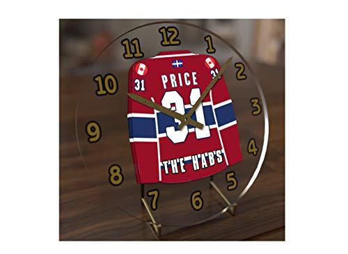 USA Hockey Legends Table Clocks - 7