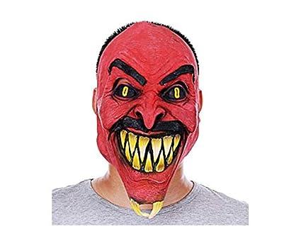 a97647a27f4 Amazon.com: Gelaiken Halloween Funny ! Scary Halloween Tricky Mask ...
