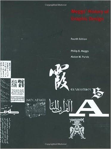 Meggs History Of Graphic Design Philip B Meggs Alston W Purvis