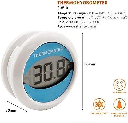 AXELEL Termómetro Digital del congelador/del refrigerador con el ...