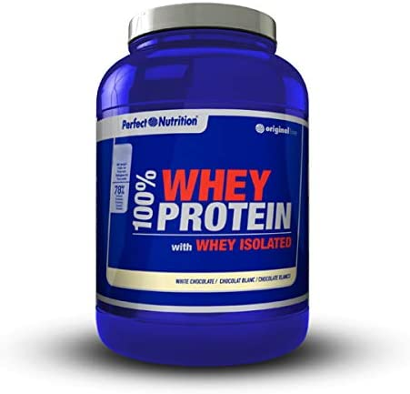 Perfect nutrition 100% Whey Protein + Iso - 908 gr Cookies / Biscuits / Galletas
