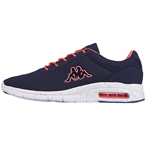 Kappa Cello - Zapatillas Unisex adulto Azul - Blau (6729 Navy/Coral)