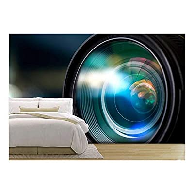 Alluring Piece of Art, Classic Design, Camera Lens with Lense Reflections