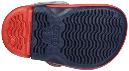 Crocs Kids' Electro III Clog, Navy/Flame, 8 M US Toddler by Crocs (Image #3)
