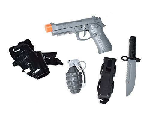 Maxx Action Commando Pistol Costume Dress-Up Play Set (5-Piece)