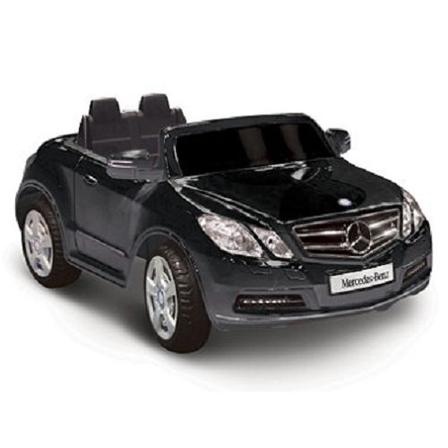 Kid Motorz One-Seater Mercedes Benz E550 6-Volt Battery-Operated Ride-On/ black