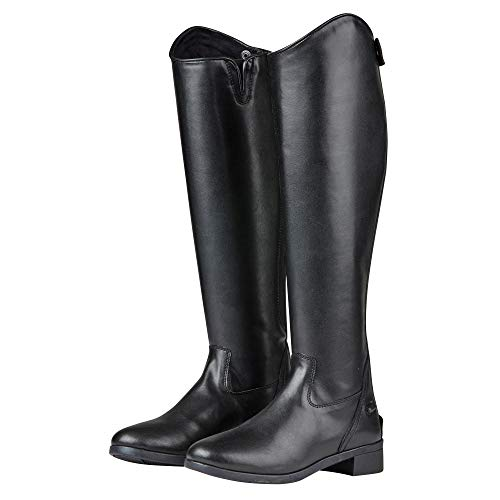 5e0f2da7e578 Saxon Womens Ladies Syntovia Tall Dress Boots (9.5 US Regular Short) (Black)
