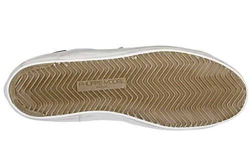 Philippe Model scarpe sneakers uomo in pelle nuove Paris bianco