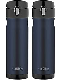 Thermos 16 Ounce Stainless Steel Commuter Bottle,...
