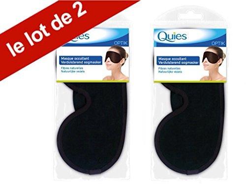 Quies Optic Sleeping Eye Mask - Set of 2 by Quies   B01CZ65OQ6