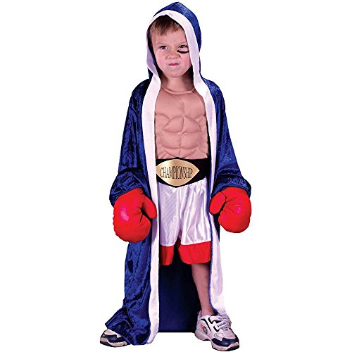 Boxer Girl Costumes (Lil Champ Toddler Costume)