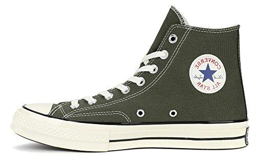 Converse Mens Chuck Taylor All Star 70 Hi Sneakers (us 9.5 D (m), 159771c, Olive)