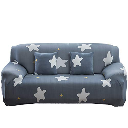 lightclub Cat Flamingo Leaf Star Sofa Wrap Full Cover Elastic Couch Case Slipover Decor Slipcovers Slip Cover 4# Single Seat