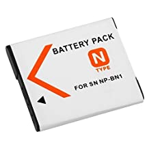 Everydaysource Compact Battery for Sony NP-BN1 ,For Sony NP-BN1 Battery Charger Set compatible with CyberShot W Series DSC-W310 / DSC-W320 / DSC-W330 / DSC-W350 / DSC-W380 / DSC-W510 / DSC-W530 / DSC-W550 / DSC-W560 / DSC-W570 / DSC-WX5 / DSC-QX10 / DSC-QX100