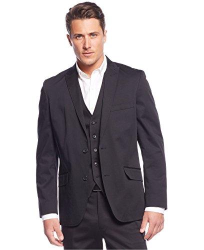 INC International Concepts Men's Truman Slim-Fit Blazer (Black, - Premium International Outlet
