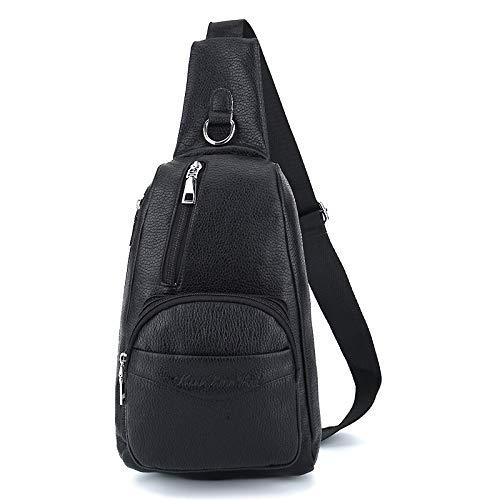 En Air noir Sac Cuir Hommes Épaule Mode À De Sports Multifonction Pour Bandoulière Shanzwh Dos Pu Plein 7wAdtWa7q