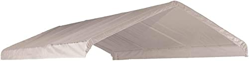 ShelterLogic 1226 White Canopy Replacement Cover, Fits 2 Frame