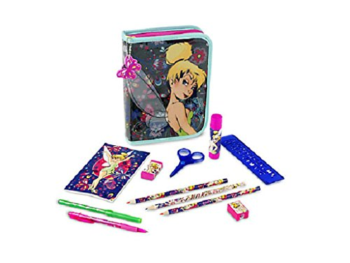 TinkerBell Fairies Stationery Kit Art Case 30 Piece Set Back to School Supplies