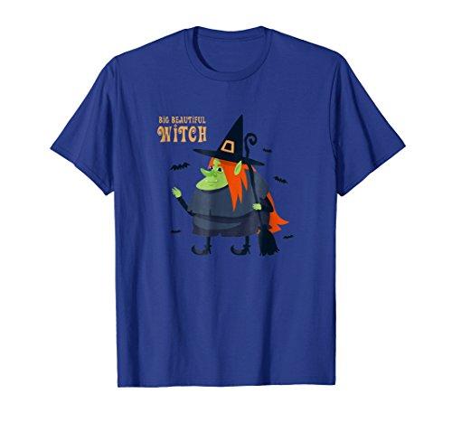 Big Beautiful Witch Shirt Funny Halloween Costume