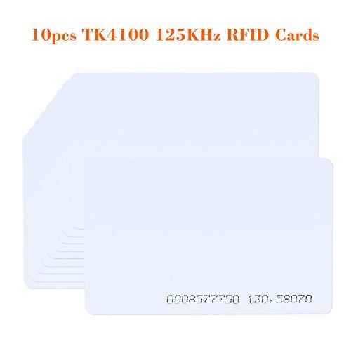 10pcs RFID 125KHz Proximity Door Control Entry Access EM Card - 2