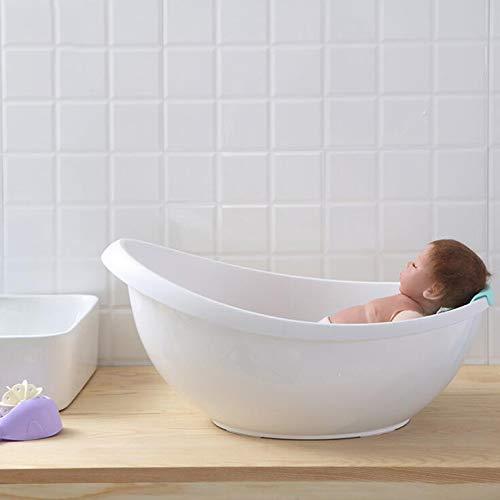 AIBAB Baño De Bebe Forma De Cáscara De Huevo Bebé Bañera Recién Nacido Puede Sentarse Y Acostarse Espesar Bañera...