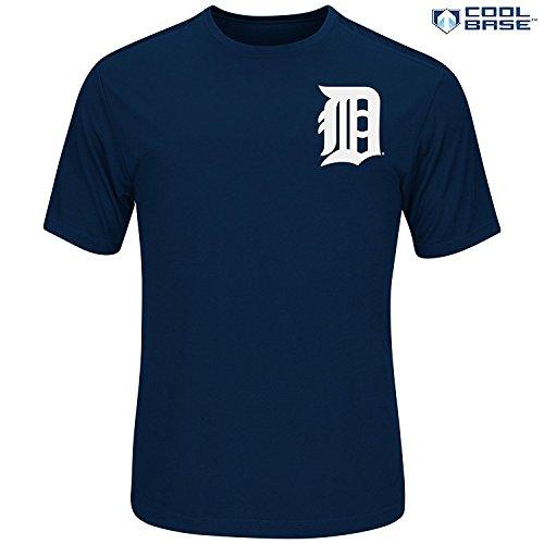 Detroit Tigers Mens Jackets (Detroit Tigers Men's Synthetic Team Wordmark T-shirt (XXL))