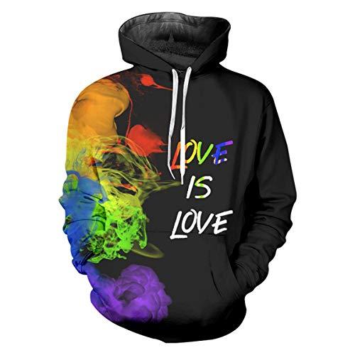 pinata Gay Pride Pullover Hoodie Men 3D Printed Hooded Sweatshirt Casual Pockets