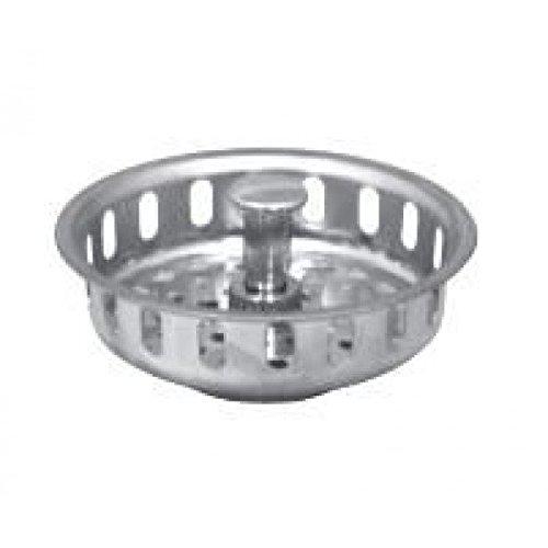 Basket Strainer - Spring Steel Closure - Sink Strainer- Pack of 5 by Everflow