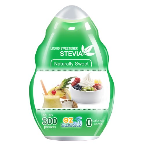 EZ-Sweetz De-bittered Stevia (1.36oz - Juice Sweetener 300 Servings/Bottle)