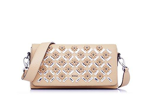 bonia-womens-dark-beige-junia-shoulder-bag