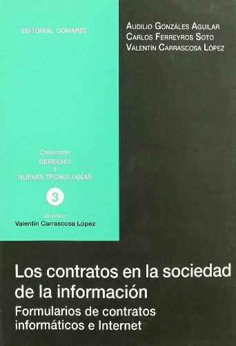 Contratos de la sociedad de la información