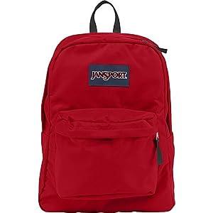 JanSport Classic SuperBreak Backpack, High Risk Red