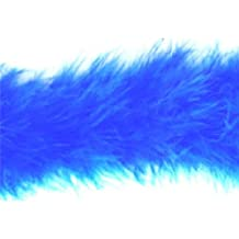 Impex Marabou Boa Feather Trimming Royal Blue - per metre
