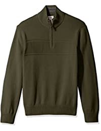 Men's Long Sleeve Quarter Zip Sweater