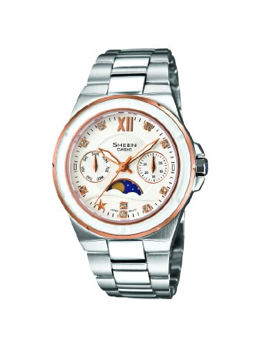 Sheen by Casio Ladies Stainless Steel Watch SHE-3500SG-7AEF