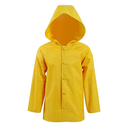 Jacket Yellow Costume (Raincoat Costumes for Children by Horror Film Clown for)